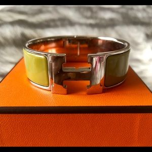 Authentic Hermes Clic Clac Bracelet PM size
